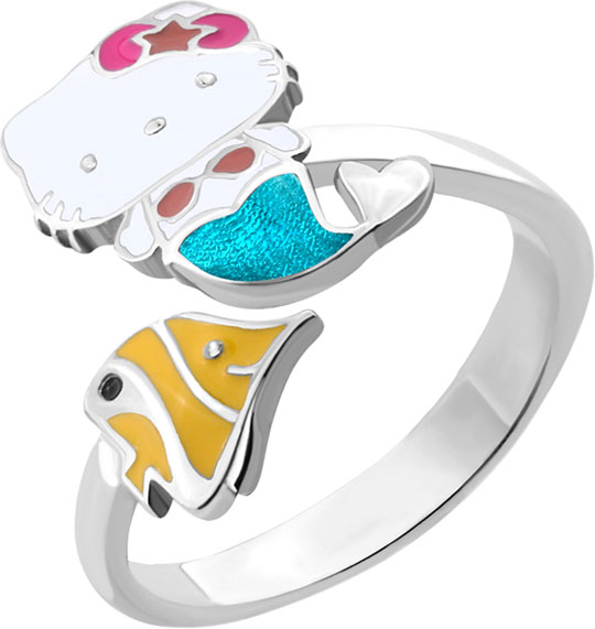 Кольца Aquamarine 54635-S-a