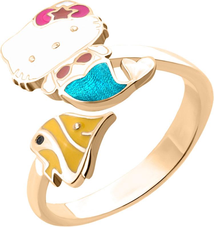Кольца Aquamarine 54635-S-g-a