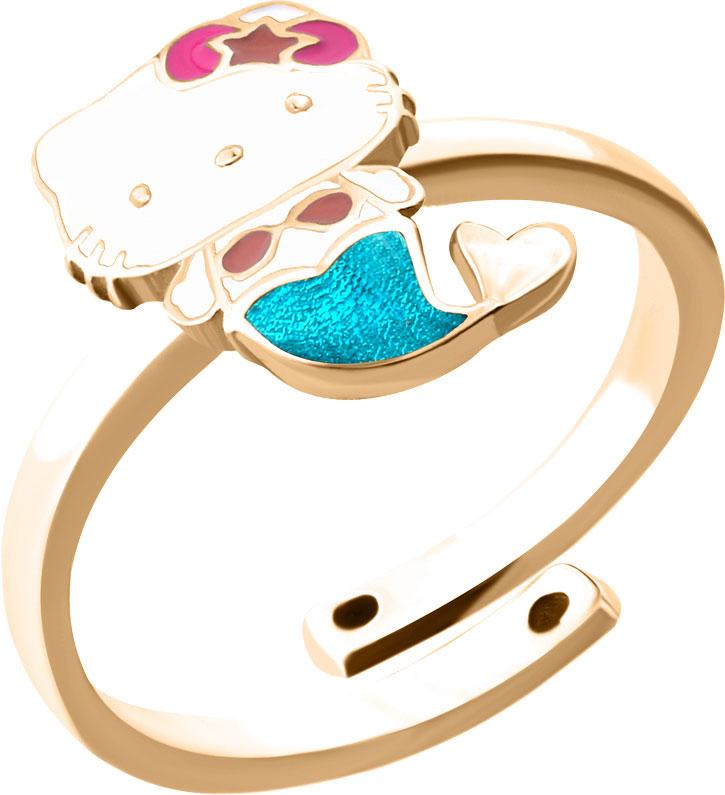 Кольца Aquamarine 54636-S-g-a
