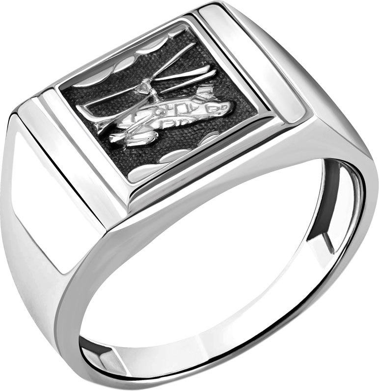 Кольца Aquamarine 54701-S-a