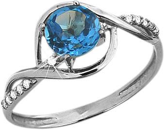 Кольца Aquamarine 6520705A-S-a