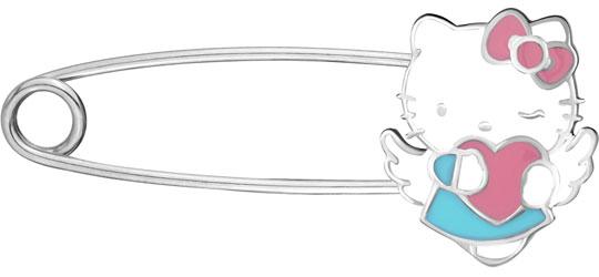 Броши Aquamarine 74432-S-a