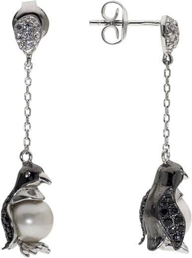Серьги AS PJE290 серьги серебро с цитрином и фианитами присцилла
