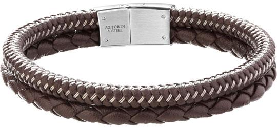 Браслеты Aztorin AZ127-5613 муж жен кожаные браслеты браслет кожа винтаж камни браслеты черный коричневый назначение подарок повседневные