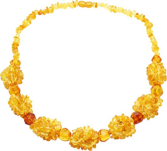 Колье Балтийское золото 0913K850-bz