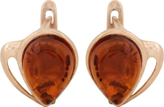 Серьги Балтийское золото 52130065-bz