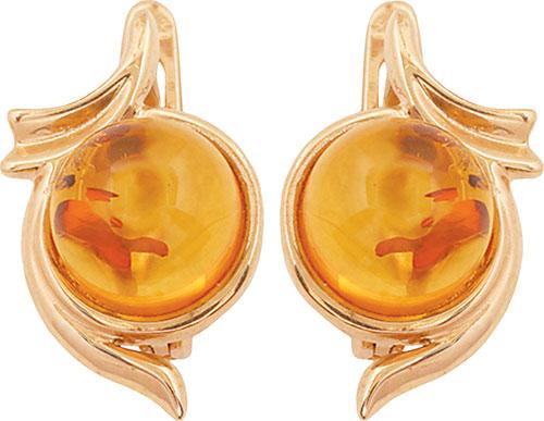 Серьги Балтийское золото 52130078-bz