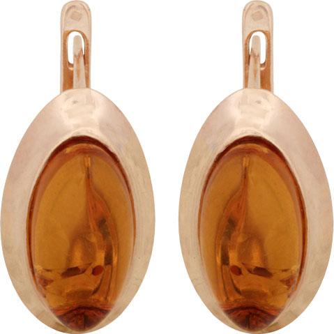Серьги Балтийское золото 52130097-bz