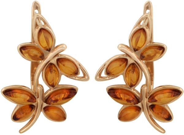 Серьги Балтийское золото 52130995-bz