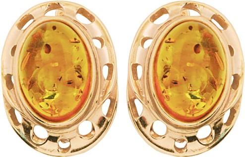 Серьги Балтийское золото 52132074-bz