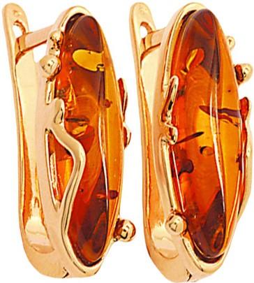 Серьги Балтийское золото 52160001-bz
