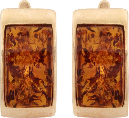 Серьги Балтийское золото 52160015-bz