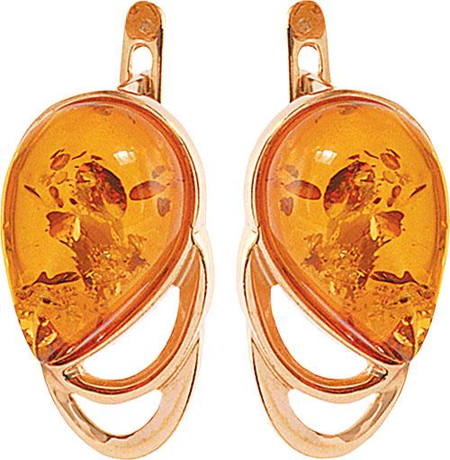 Серьги Балтийское золото 52160083-bz