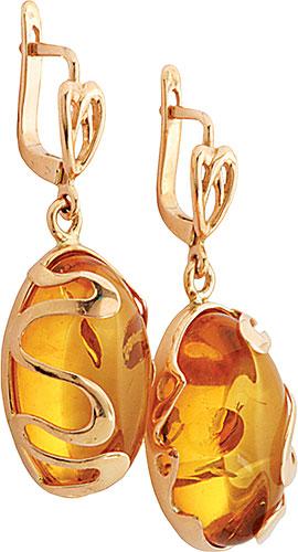 Серьги Балтийское золото 52160105-bz