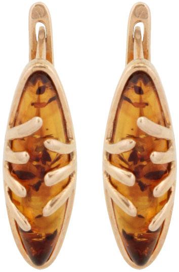 Серьги Балтийское золото 52160462-bz