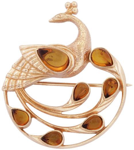 Броши Балтийское золото 55162012-bz