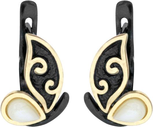 Серьги Балтийское золото 72111094-bz ювелирные изделия янтарь