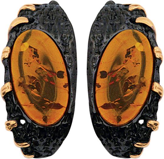 Серьги Балтийское золото 72131024-bz