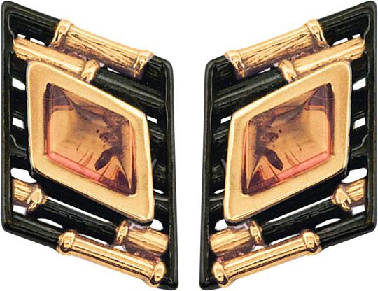 Серьги Балтийское золото 72131055-bz