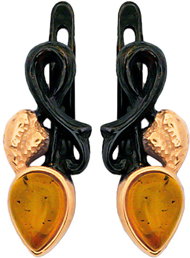 Серьги Балтийское золото 72131211-bz