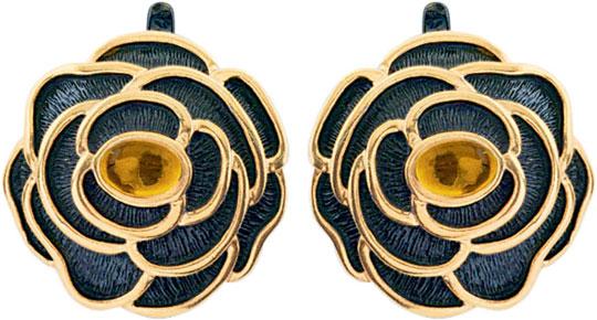 Серьги Балтийское золото 72131309-bz