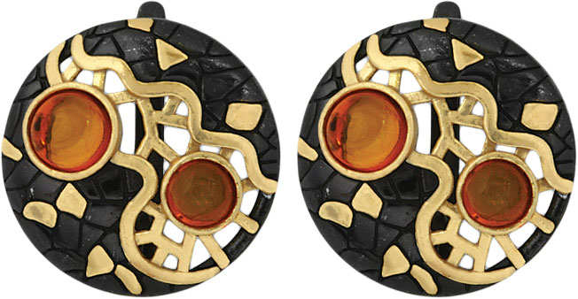 Серьги Балтийское золото 72131343-bz