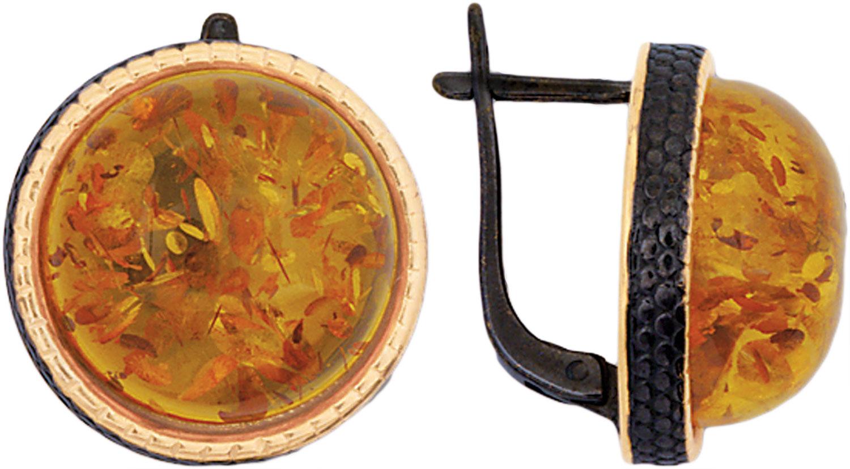 Серьги Балтийское золото 72162015-bz
