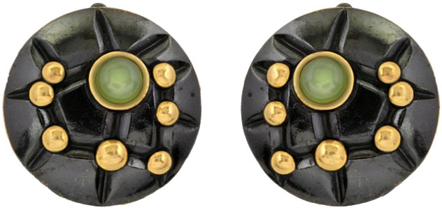Серьги Балтийское золото 72801336-bz