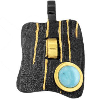 Фото - Кулоны, подвески, медальоны Балтийское золото 73751030-bz колье балтийское золото 0913k854 bz