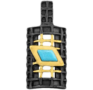 Фото - Кулоны, подвески, медальоны Балтийское золото 73751038-bz колье балтийское золото 0913k854 bz