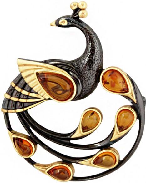 Броши Балтийское золото 75162012-bz