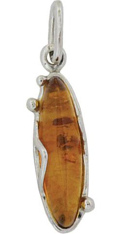 Фото - Кулоны, подвески, медальоны Балтийское золото 83160001-bz колье балтийское золото 0913k854 bz