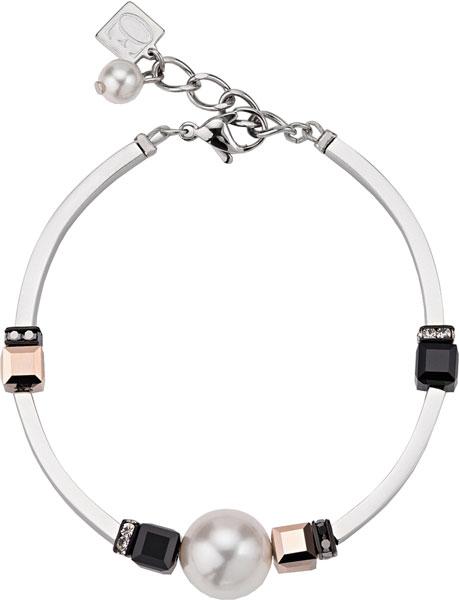 Браслеты Coeur de Lion 4803/30-1300 u7 boho бисера браслеты для женщин ювелирные изделия 2016 черный камень необычные австрийский хрусталь женщины регулируемая браслет узла