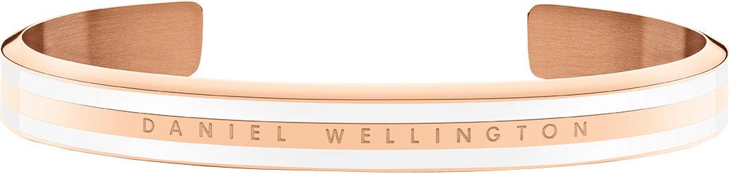 Браслеты Daniel Wellington Classic-Slim-Bracelet-Satin-White-RG-Small