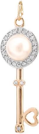 Кулоны, подвески, медальоны De Fleur 23081A1 кулоны подвески медальоны de fleur 29054s1