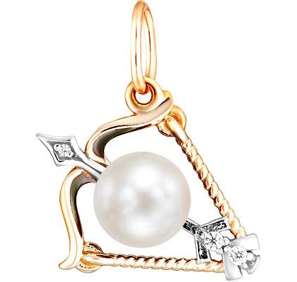 Кулоны, подвески, медальоны De Fleur 33100.9A1 кулоны подвески медальоны de fleur 29054s1