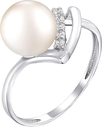 Кольца De Fleur 51404S1 кольца колечки кольцо жемчуг леди кп 2508