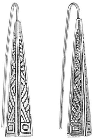 Серебряные серьги Серьги DEN'O 01E992 фото