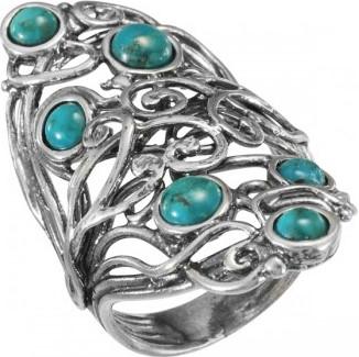 Серебряные кольца Кольца DEN'O 01R2785TQ фото