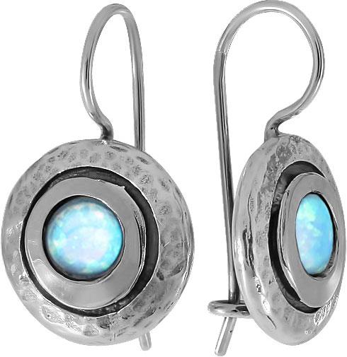 Серебряные серьги Серьги DEN'O MVE1408OP