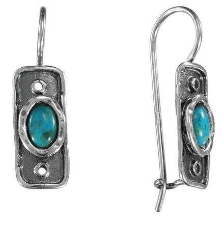 Серебряные серьги Серьги DEN'O MVE685TQ фото