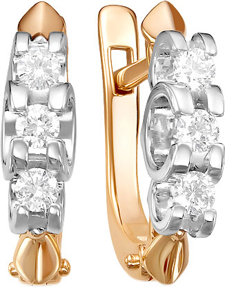 Серьги Diamond Union 5-2260-103-2K