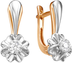 Серьги Diamond Union 5-2503-103INV-2K