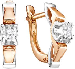 Серьги Diamond Union 5-2865-103-2K