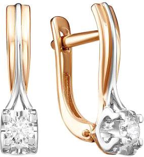 Серьги Diamond Union 5-2872-103-2K