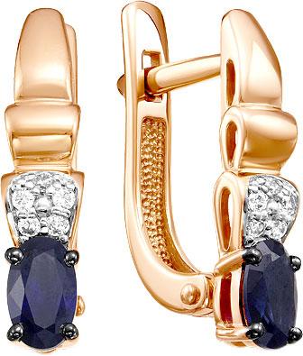 Серьги Diamond Union 5-3070-103-2K-Sap