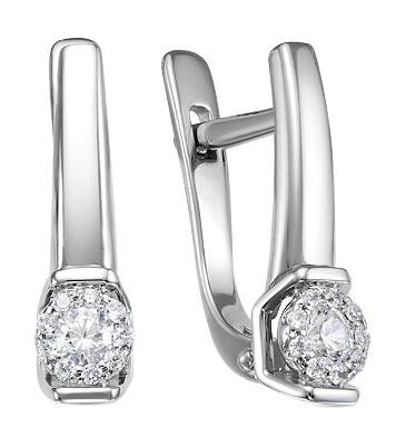 Серьги Diamond Union 5-3584-103INV-2B