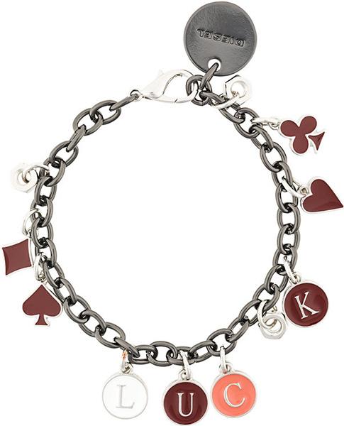 Браслеты Diesel X05180-PR581/H6602 муж wrap браслеты винтаж браслеты уникальный дизайн мода браслеты черный коричневый назначение новогодние подарки спорт