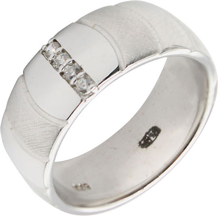 Кольца Element47 by JV AR2649Z/R5 женские кольца jv женское серебряное кольцо с куб циркониями sr00025 001 blk 17 5
