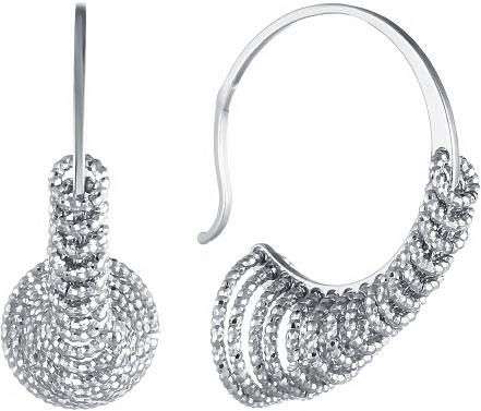 Серьги Element47 by JV BAG0011A серьги с подвесками jv серебряные серьги с ювелирным стеклом se0422 us 001 wg
